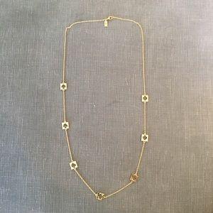 Kate Spade Gold Long Spade Logo Necklace